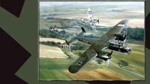 3rd Reich Lw Donier 17 Flying Pencil Battle Of by PanzerBob