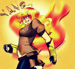 Yang Xiao Long by Punkichi