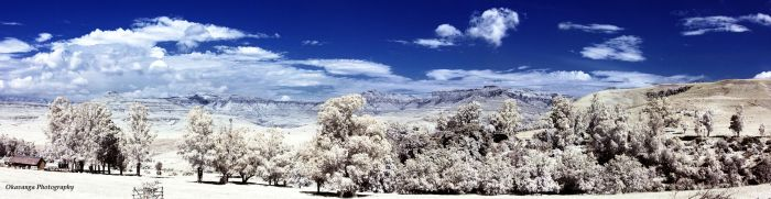 Montusi Infrared Views - Panorama by Okavanga
