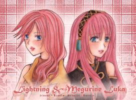Lightning and Luka by MizuuHime