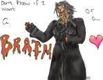 Xemnas the Zombie by Miranda901k