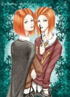 Weasley Twins by andycobain