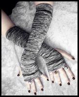 Gneiss Arm Warmers by ZenAndCoffee