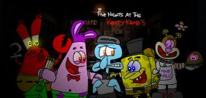 Five Nights at the Krusty Krab's by AngryBirdsStuff
