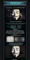 V for Vendetta Tutorial by da-hazard
