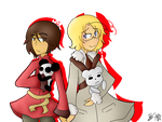 Collab/OOC: Hong Kong and Canada by Ask-New--Zealand