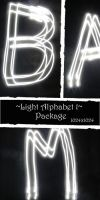 Light Alphabet Texture 1 by almudena-stock