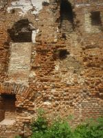 Ruins stock 10 brick wall by Finsternis-stock