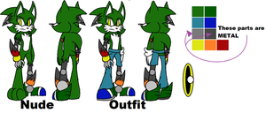 Rave the Hedgehog Reference Sheet by scifiEnchantress