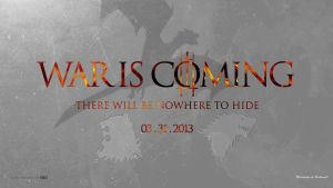 Game Of Thrones Wallpaper War Is Coming by BeAware8