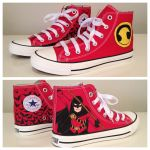 Red Robin Sneakers by breathless-ness