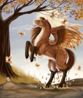Autumn Equinox by Leashe