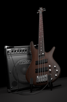 3D Ibanez SR500 + Fender Rumble 30 by pierre-allard