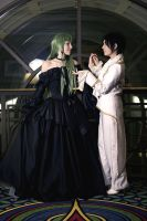 code geass - lelouch x cc by beautifully-twisted