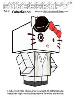 Cubeecraft-Hello Kitty Droog by CyberDrone