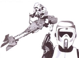 Scout Trooper by Slayerlane