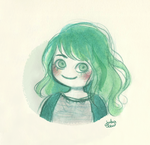 Green Smile by jubalew