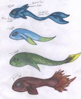 Sea Zora Babies by Beasts-of-Blood