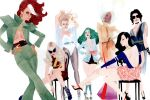 X-men Do Vanity Fair by kevinwada