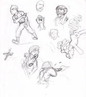Lab Doodles 2 by Mattings