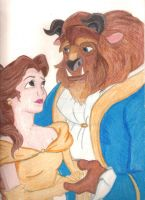Disney's Beauty and the Beast by LizDraws