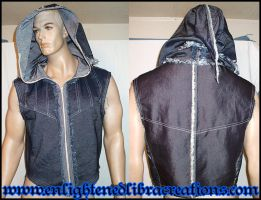 Raw Doublet Hoody by RedheadThePirate