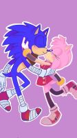 Hedgie smooches  by GumiGuac