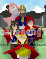 Dungeons and Dragons by baneneng1