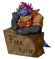 Hector's kissing booth by Pokemon-Diamond