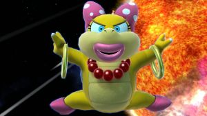 Super Smash Bros. for Wii U - Wendy O. Koopa Jumps by tallsimeon2003