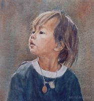 Innocence - Watercolour by AstridBruning