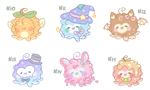 [Open!] Octopuffs #10 - 15 (Set Price) by Sarilain