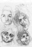 Early Queen Sketch by ChloeC