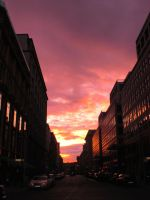 Sunset Over Berlin 101 by ErinM2000