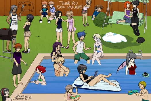 Summer Party for Everyone by JocelynSamara