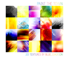 Paint The Town: Icon Texture Set by blue-emotion