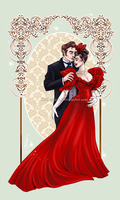 Angelica and Roderick by RedPassion