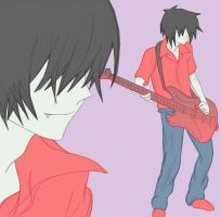 Marshall Lee by RoxyRocz