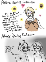Poor Russia Learns of Fanfiction by Flutter-Butter