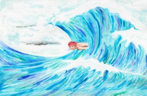 Surfing by Rufina-Tomoyo