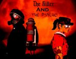 The Killer and The Psycho Cover by thegreatland32