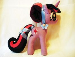 Crystal Twillight Sparkle Plush by mmmgaleryjka