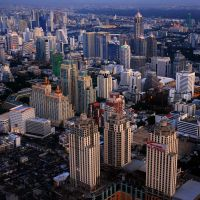 Bangkok Skyline by porbital
