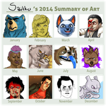 Saikku's 2014 Summary of Art by Saikkunen