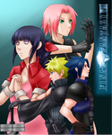 Request 03: FFVII and Naruto by haeunee2