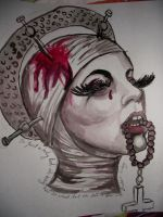 Mother Monster by Neon-Light-Cortege