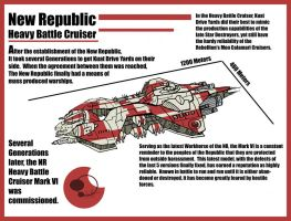 New Republic Battle Cruiser by Sathiest-Emperor