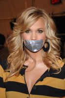 Carrie Underwood tape gagged by ikell