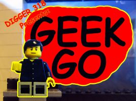 GEEKGO review show logo by Digger318