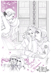 Emily and LouisXVI. - RoDT - Doodles by RedPassion
